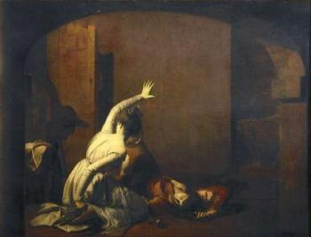 Joseph Wright Of Derby : Romeo and Juliet